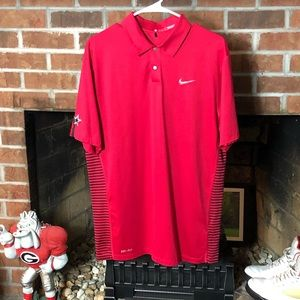 Nike TW Tiger Woods Engineered Stripe Polo Cowboys